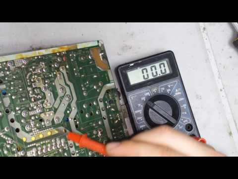 видео: ремонт телевизора lg cf-21d79 мигает светодиод, не включается (шасси mc-994a)
