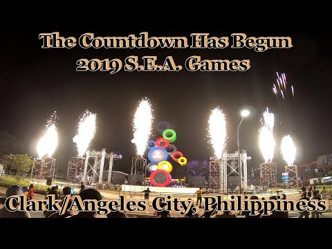 Count Down Clock Ceremony For The 2019 SEA Games : Clark/Angeles City, Philippines Mp3