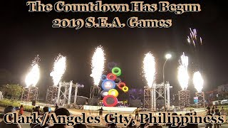 Count Down Clock Ceremony For The 2019 Sea Games : Clark/angeles City, Philippines