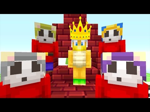 Minecraft Wii U - Nintendo Fun House - From War to King?!? [46]
