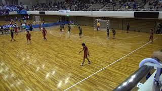 7日 ハンドボール男子 あづま総合体育館 Aコート 不来方×北陸 3回戦 2