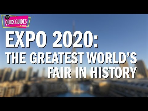 Expo 2020 Dubai: Everything you need to know (2018)