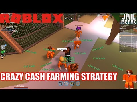 Roblox: JailBreak: Playing as a Noob Ep3: Another way to earn cash QUICK as COP