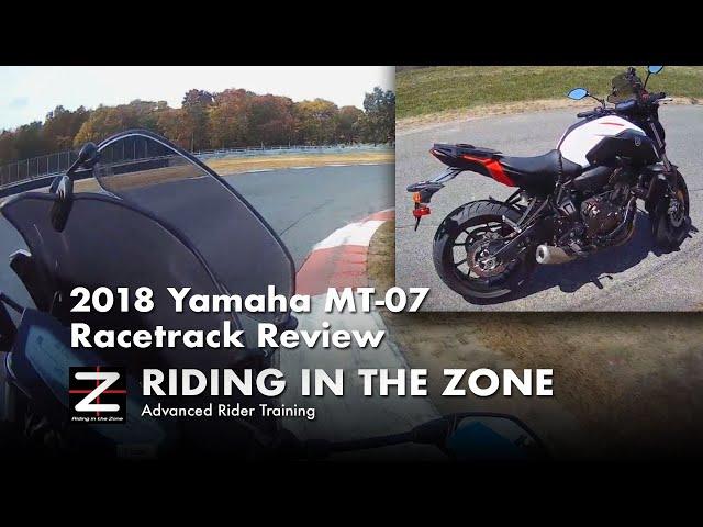 2018 MT-07 Racetrack review