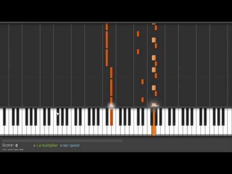 Clocks - Coldplay piano tutorial