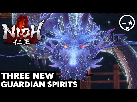 Nioh Dragon of the North DLC: 3 NEW Guardian Spirits Showcase