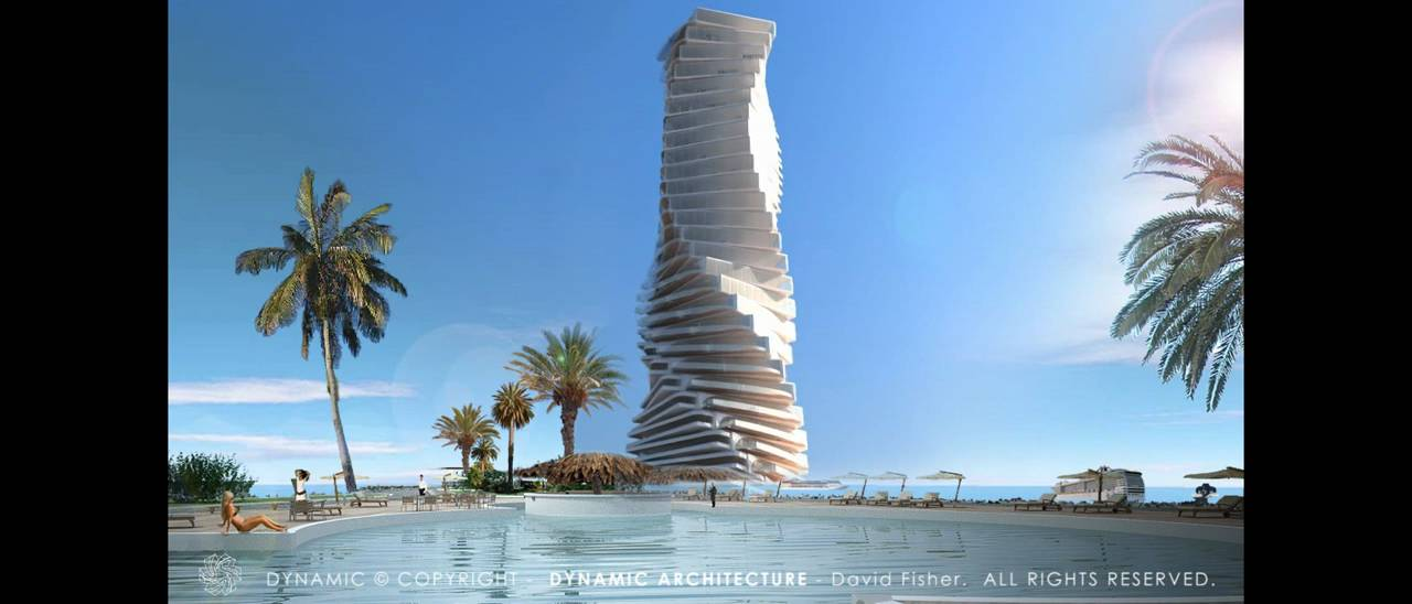 Imagine - Rotating Tower in Miami - YouTube