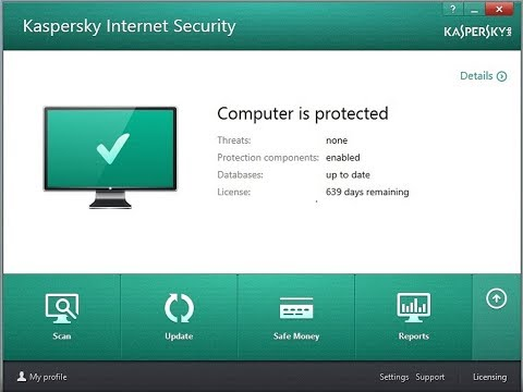 KASPERSKY INTERNET SECURITY 2017+lifetime License key+100% activation FREE download