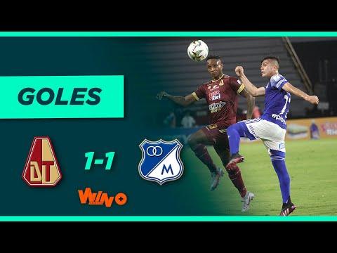 Tolima vs. Millonarios (1-1) Final ida -  Liga BetPlay 2021-I