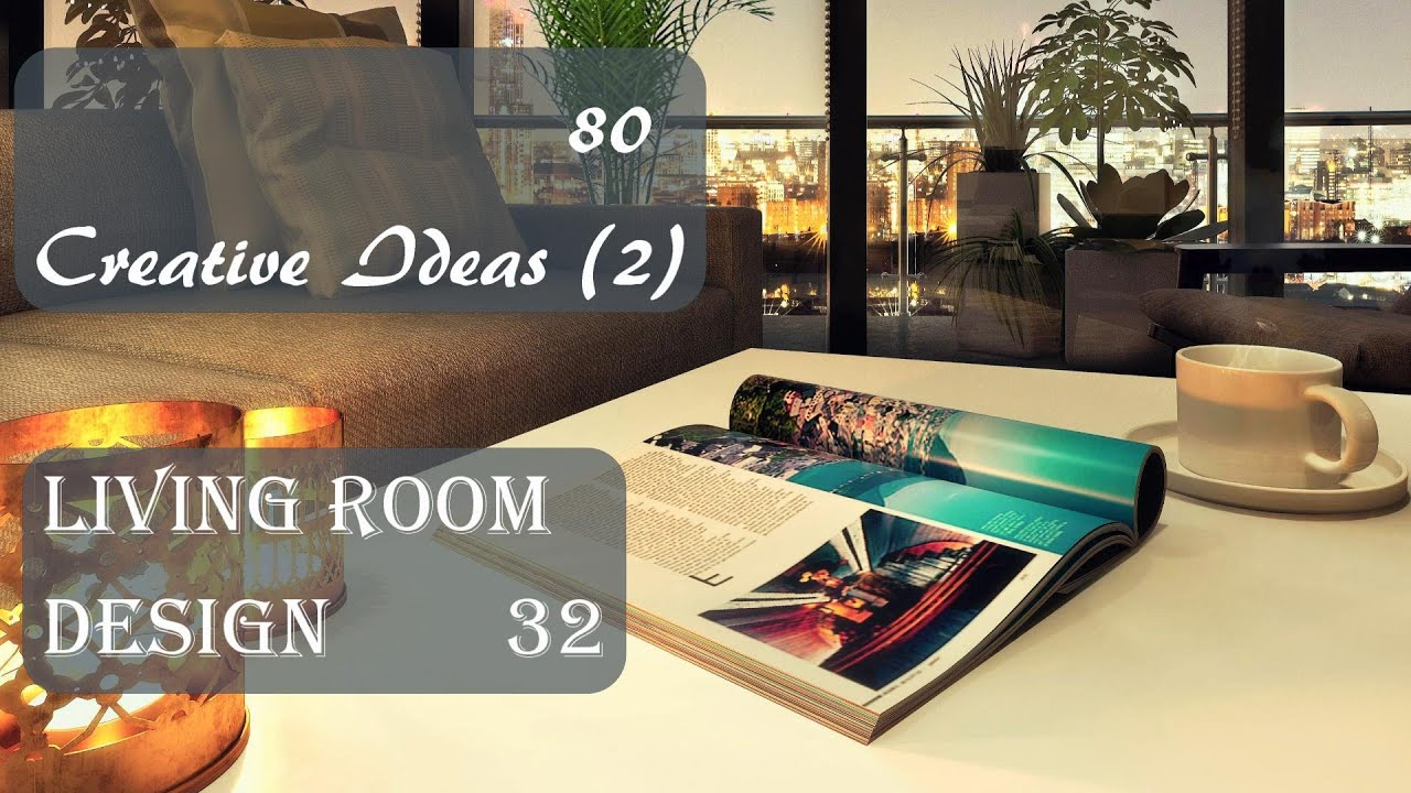 80 Creative Ideas (2) | Living Room Design #32