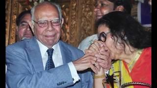 Ram Jethmalani Meets Leena Chandavarkar