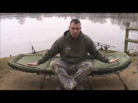 Tackle Review - Cyprinus Memory Foam Bedchair