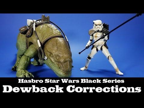 Revisions: Star Wars Black Series Dewback Review Sandtrooper Hasbro