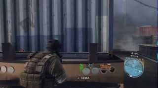 Ghost Recon Future Soldier Silenced ACR Gameplay