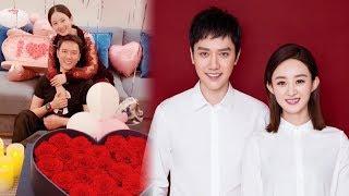 Vừa công bố kết hôn, Triệu Lệ Dĩnh đã đăng ảnh sinh nhật bên Phùng Thiệu Phong đầy hạnh phúc