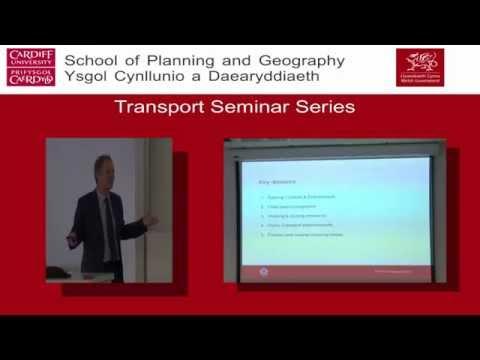 Developing a Transport Strategy for Gibraltar - TRANSPORT SEMINAR SERIES