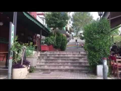 "Urban downhill ~ Patras city~ ""Too many stairs"""