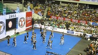 NU Pepsquad, National Champ,  NCC Finals 2013