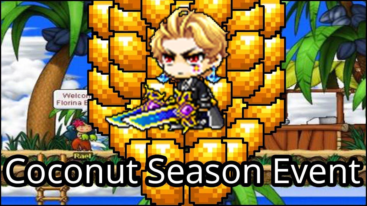 Coconut Season Event Guide - MapleStory 15th Anniversary event