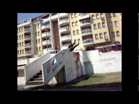Parkour and Freerunning in Macedonia ( Skopje )