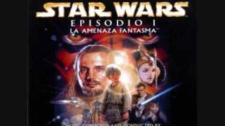 Star Wars episode I The Phantom Menace (soundtrack): The arrival at Tatooine and The flag Parade