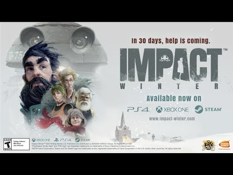 Impact Winter - Launch Trailer | PS4, XB1, PC