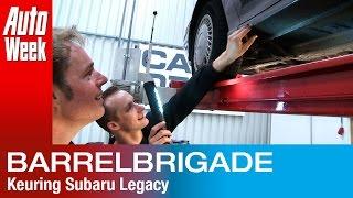 Barrelbrigade: Klokje Rond Subaru Legacy