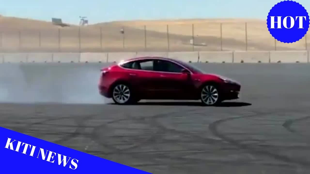 Tesla Shares Video of Model 3 Performance Drifting on Alaskan Snow
