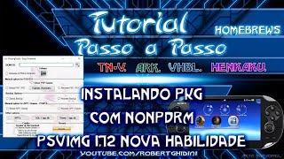 [PSVITA 3.60] INSTALANDO PKG COM NONPDRM PSVIMG 1.72 NOVA HABILIDADE - Freeshop