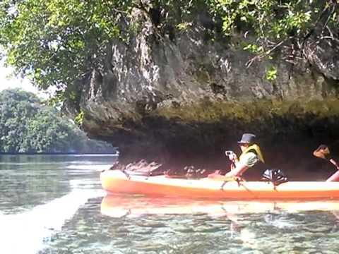 Palau sea kayakety yak