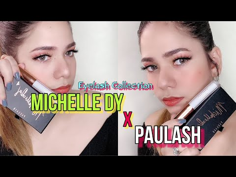 MICHELLE DY LASHES X PAULASH || Honest Review and try on #MichelleDy #paulash #EYELASHESGOALS