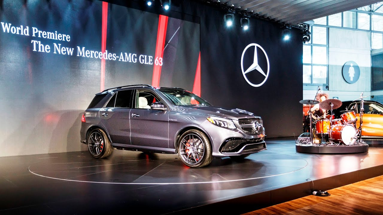 NYIAS MercedesBenz New York International Auto Show YouTube - Mercedes car show