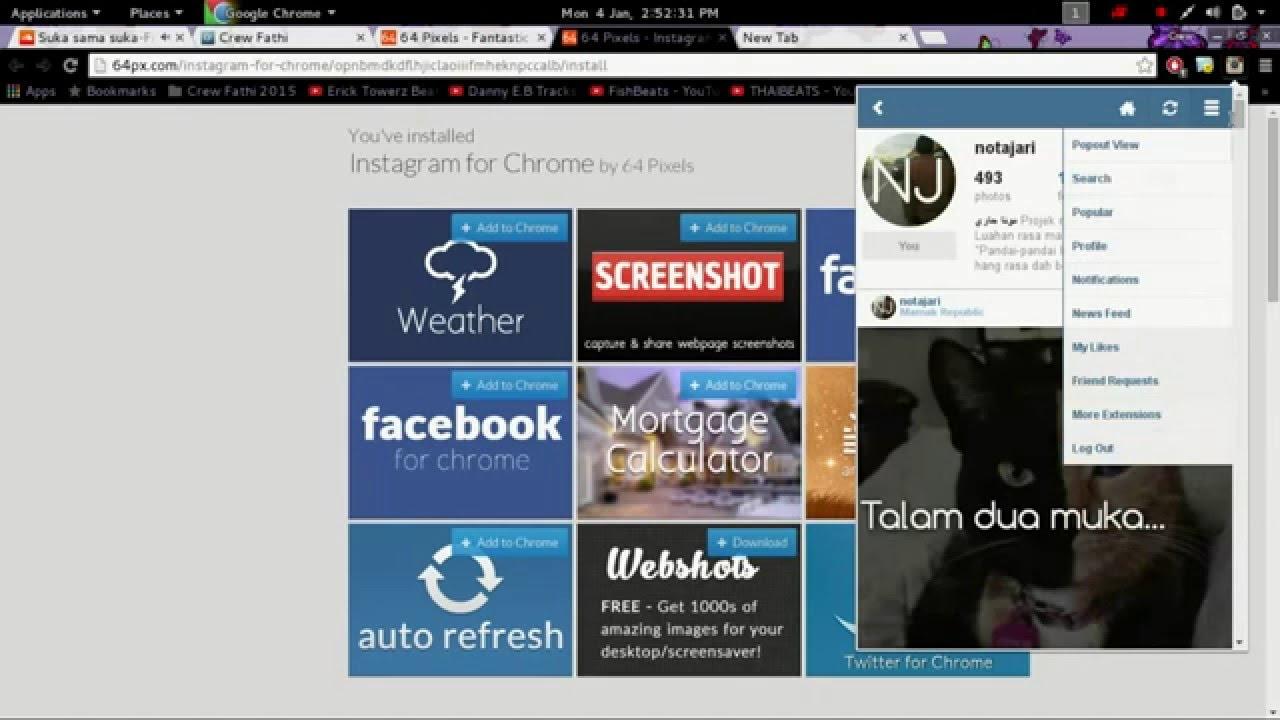 Extension Instagram For Chrome