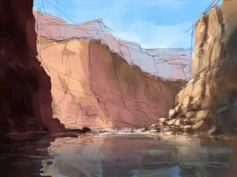 Grand Canyon Sketch #1 - YouTube