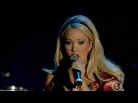 Carrie Underwood and Heart - Alone