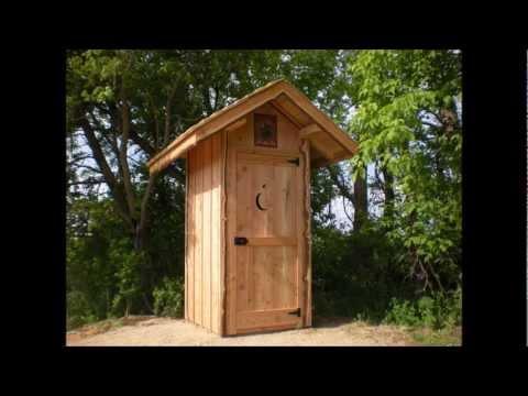 toilettes seches 2 3 construire soi m me outhouse doovi. Black Bedroom Furniture Sets. Home Design Ideas
