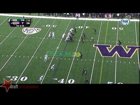 #71 Danny Shelton, NT, Washington vs Oregon