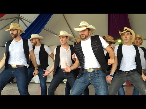 The L.A. Wranglers @ Long Beach Pride 2015 - Country Girl Shake