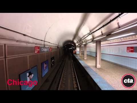 CTA Ride the Rails: Red Line to Howard in Real Time