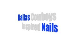 NFL Nail Art Collab [Dallas Cowboys Inspired] Thumbnail