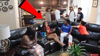 CAUGHT K!SSING JALIYAH PRANK ON FUNNYMIKE !!!
