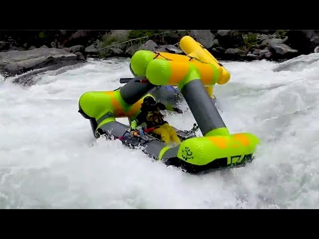 Inflatable White Water Rafting