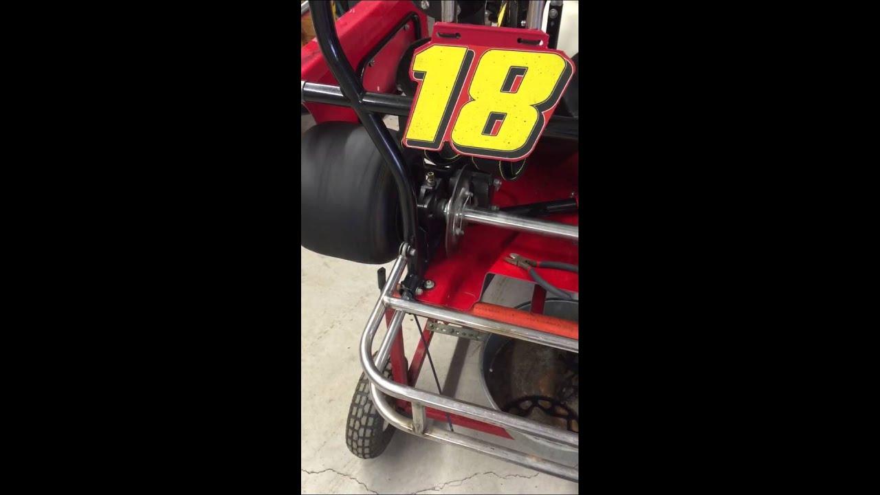 Free Spinning Rear Kart Bearings