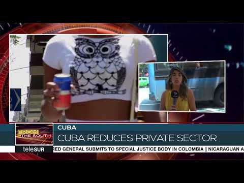 Cuba Reduces Private Sector