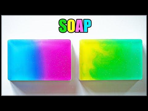 DIY: Мыло ГРАДИЕНТ ● Мастер-класс ● GRADIENT SOAP