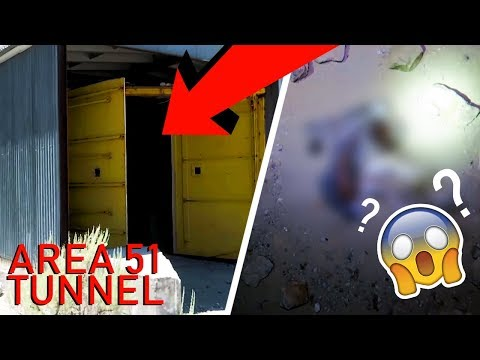 Thumbnail: AREA 51 WE HAD TO RETURN TO THIS MASSIVE CREEPY ABANDONED TUNNEL!!