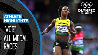 Veronica Campbell-Brown 🇯🇲 - Eight-Time Olympic Medallist | Athlete highlights