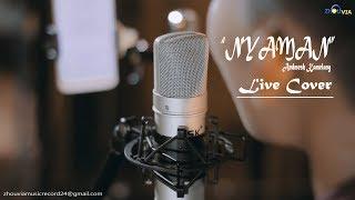 Andmesh NYAMAN Live Cover LIRIK