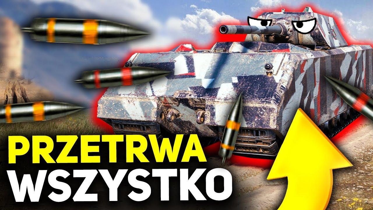NIEZNISZCZALNY MAUS? - World of Tanks