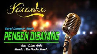Karaoke PENGEN DISAYANG - Dian Anic